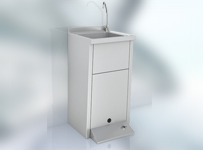 Pedal operated washbasin