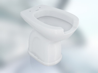 Ergonomic WC with complements