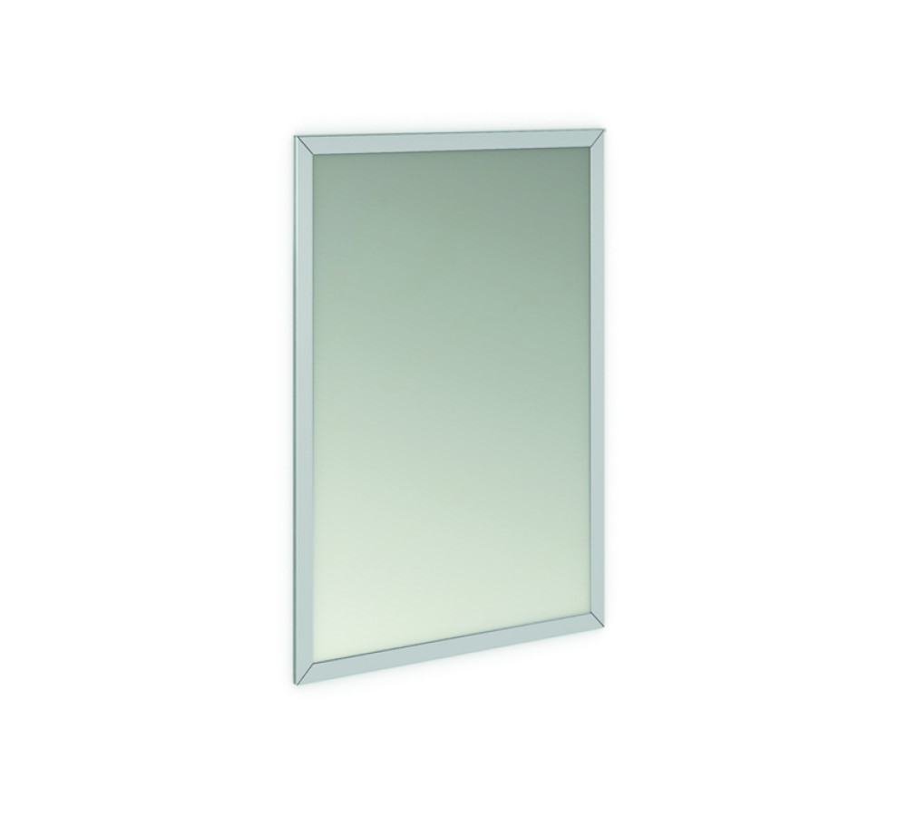GENWEC: MIRROR WITH 304 STAINLESS STEEL FRAME 700X500 MM
