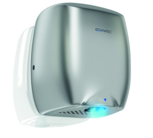E-FLOW HAND DRYER ALUMINIUM SILVER