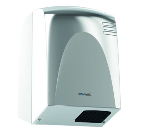 WECFLOW HAND DRYER STAINLESS STEEL POLISHED