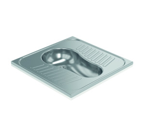 Squat toilet 304 stainless steel polished