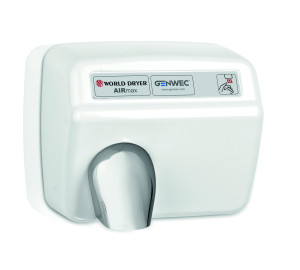 MODEL A HAND DRYER AUTOMATIC STEEL WHITE