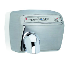 MODEL A HAND DRYER AUTOMATIC STAINLESS STEEL BRUSHED
